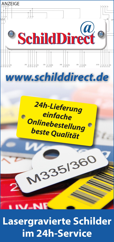 Anzeige SchildDirect